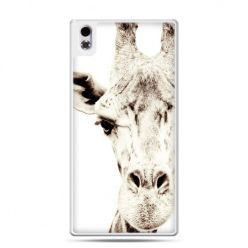 HTC Desire 816 etui żyrafa