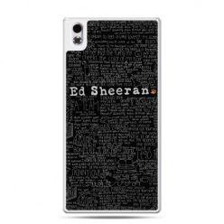 HTC Desire 816 etui ED Sheeran czarne poziome