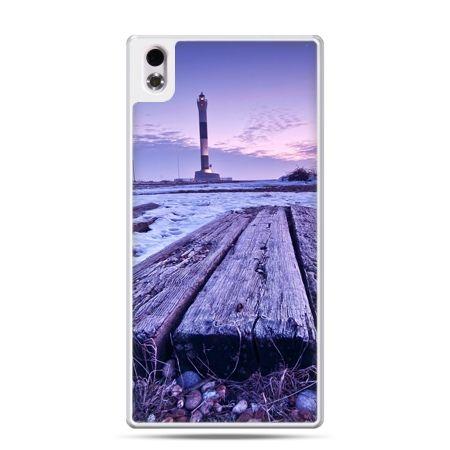 HTC Desire 816 etui latarnia morska zmierzch