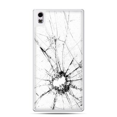 HTC Desire 816 etui rozbita szybka