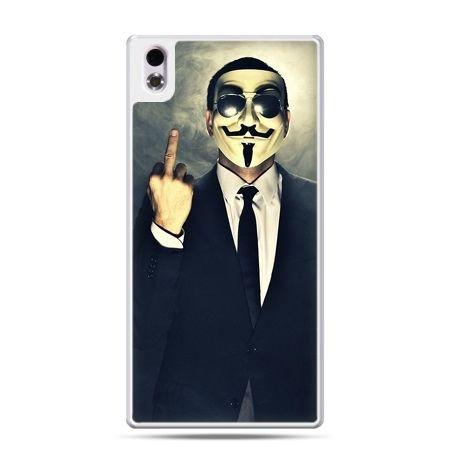 HTC Desire 816 etui Anonimus Fuck You