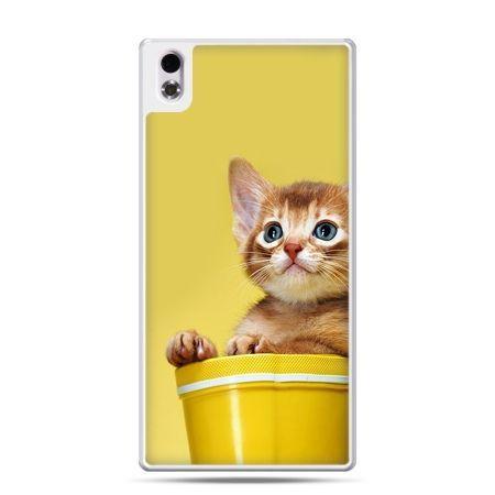 HTC Desire 816 etui kot w doniczce