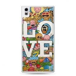 HTC Desire 816 etui LOVE