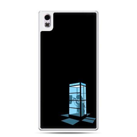 HTC Desire 816 etui nocna budka telefoniczna