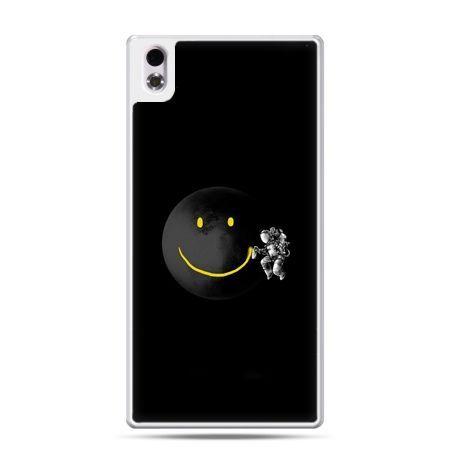 HTC Desire 816 etui uśmiechnięta planeta