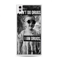 HTC Desire 816 etui I don`t do drugs I am drugs