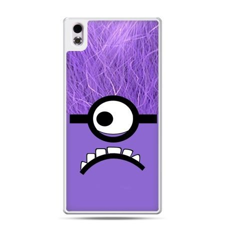 HTC Desire 816 etui fioletowy Minionek Despicable, Minionki