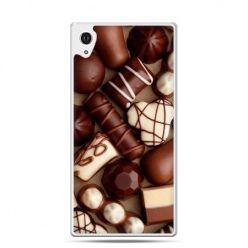 Etui Xperia Z4 czekoladki