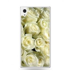 Etui Xperia Z4 białe róże