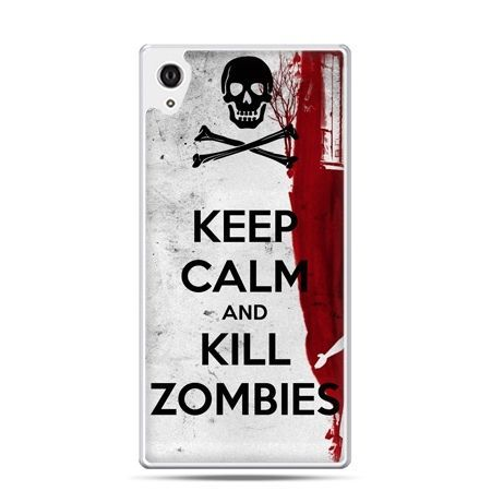 Etui Xperia Z4 Keep Calm and Kill Zombies