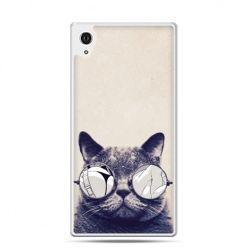 Etui Xperia Z4 kot w okularach