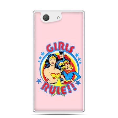 Xperia Z4 compact etui Girls Rule