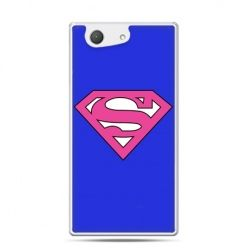 Xperia Z4 compact etui Supergirl