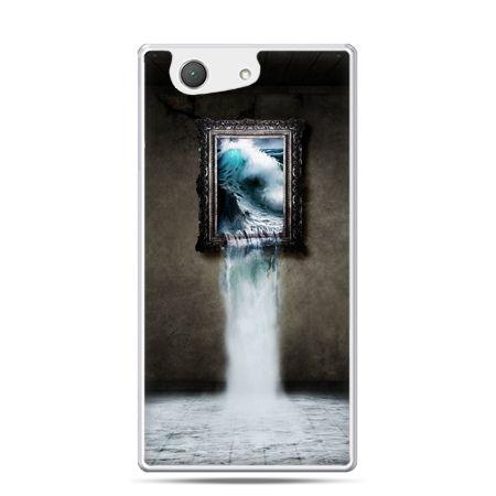 Xperia Z4 compact etui obraz wodospad