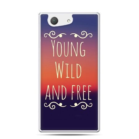 Xperia Z4 compact etui Young wild and free