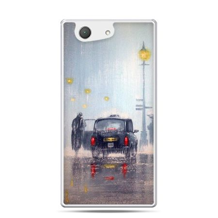 Xperia Z4 compact etui Londyn w deszczu
