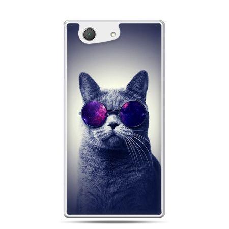Xperia Z4 compact etui kot hipster w okularach