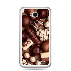 Etui na LG L70 czekoladki