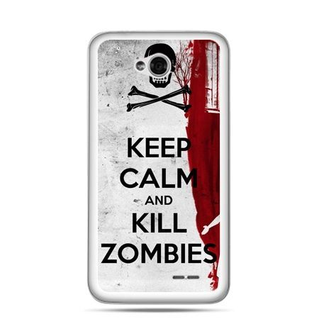 Etui na LG L70 Keep Calm and Kill Zombies