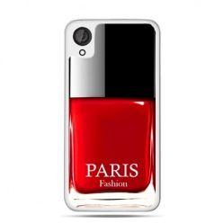 Etui dla Desire 820 lakier do paznokci czerwony