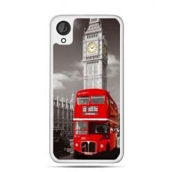 Etui dla Desire 820 czerwony autobus londyn