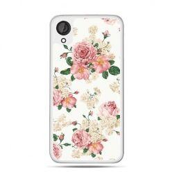 Etui dla Desire 820 polne kwiaty