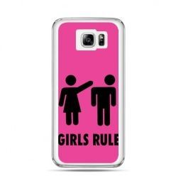 Galaxy Note 5 etui różowe Girls Rule