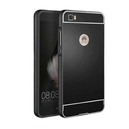Huawei P8 lite aluminium, etui bumper case - Czarne