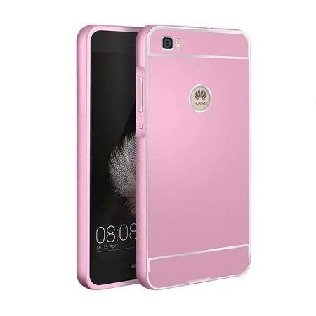 Etui Huawei P8 lite aluminium bumper case różowy