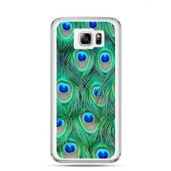 Galaxy Note 5 etui pawie pióra