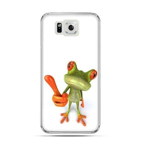 Galaxy Alpha etui śmiesznaq żaba