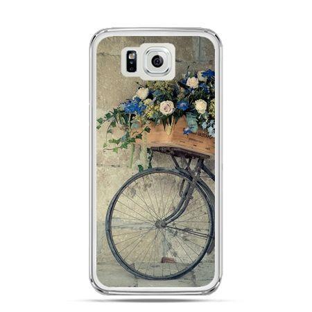 Galaxy Alpha etui rower z kwiatami