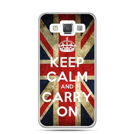 Galaxy J1 etui Keep calm and carry on