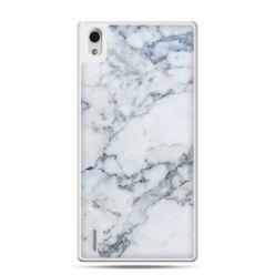 Huawei P7 etui biały marmur