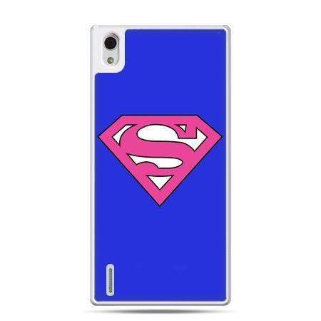 Huawei P7 etui Supergirl