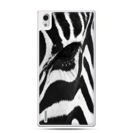 Huawei P7 etui zebra