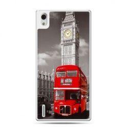 Huawei P7 etui czerwony autobus londyn