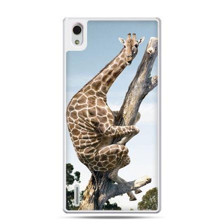 Huawei P7 etui śmieszna żyrafa