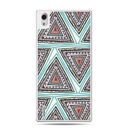 Huawei P7 etui Azteckie trójkąty