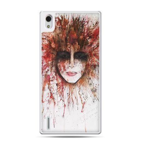 Huawei P7 etui tajemnicza twarz