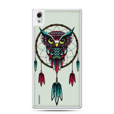 Huawei P7 etui sowa indiańska
