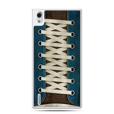 Huawei P7 etui trampki ze sznurówkami