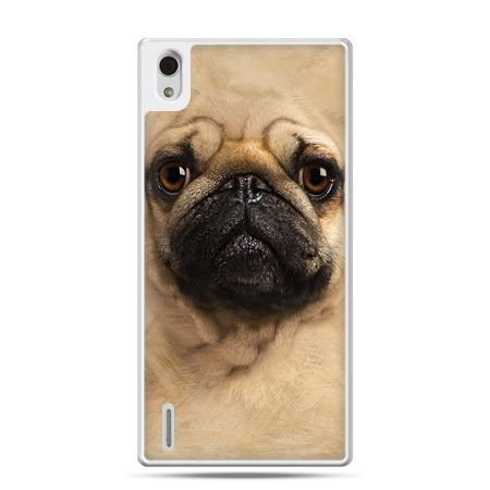 Huawei P7 etui pies szczeniak Face 3d
