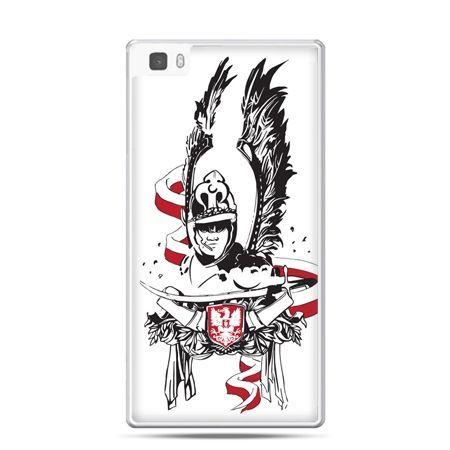 Etui na telefon Huawei P8 patriotyczne - husarz