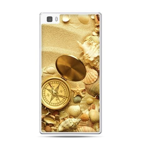 Huawei P8 etui kompas na plaży