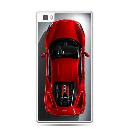 Huawei P8 etui czerwone Ferrari