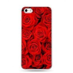 Walentynkowe etui bukiet czerwonych róż.