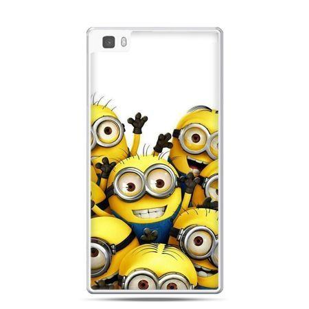 Huawei P8 etui Minionki