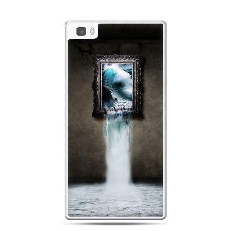 Huawei P8 etui obraz wodospad