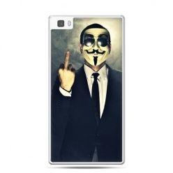 Huawei P8 etui Anonimus Fuck You